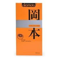 Bao cao su Okamoto Orange Super Lubricated 10 cái