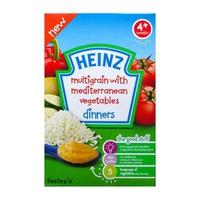 Bột ăn dặm Heinz Rau củ 125g 4m+