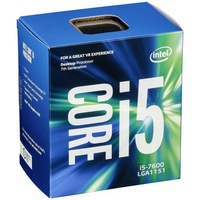CPU Intel Core i5-7600 3.5 GHz