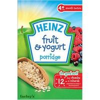 Bột ăn dặm Heinz ngũ cốc sữa chua trái cây 125g 4m+
