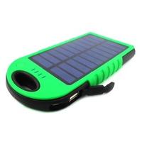 Pin sạc dự phòng năng lượng mặt trời Solar Charger 12000mAh