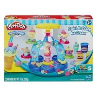 Đất nặn Play-Doh B0306 Máy làm kem cầu vồng