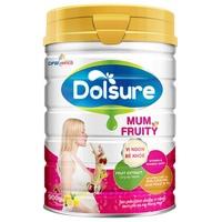 Sữa Dolsure Mum Fruity 900g Cho Mẹ Mang Thai Và Cho Con Bú