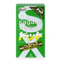 Bao cao su có gai nổi Sagami Xtreme Green