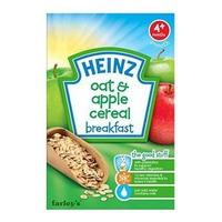 Bột ăn dặm Heinz yến mạch táo 125g 4m+
