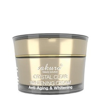 Kem dưỡng trắng chống lão hóa Sakura Crystal Clear Whitening Anti-Aging Cream 30g