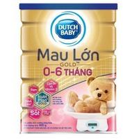 Sữa Dutch Lady Mau Lớn Gold 900g 0-6 tháng