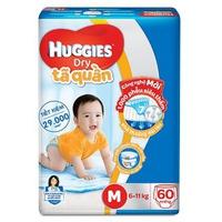 Tã quần Huggies size M 60 miếng (bé 6-11kg)