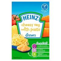 Bột ăn dặm Heinz Mỳ Ý, rau củ và phô mai 125g 7m+