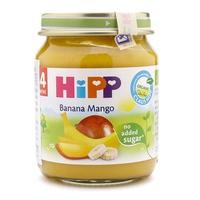 Dinh dưỡng đóng lọ Hipp 125g 4m+ chuối đào