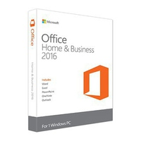 Phần mềm Microsoft Office Home and Business 2016