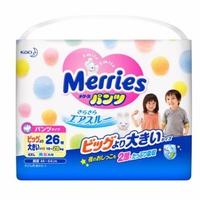 Bỉm quần Merries XXL26 15-28kg