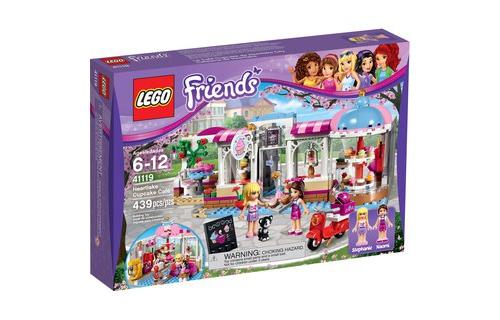 Mô Hình LEGO Friends 41119 Quán Cà Phê Bánh Ngọt Heartlake