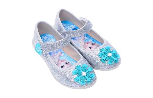 Giày Búp Bê Bé Gái Biti's Nữ Hoàng Băng Giá Frozen DBB005111, Giá