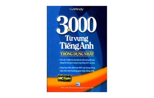 3000 Từ Vựng Tiếng Anh Thông Dụng Nhất