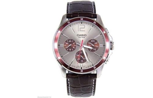 9a30aa6871a Đồng Hồ Nam Dây Da Casio MTP-1374L-7A1VDF