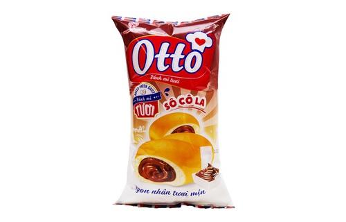 Bánh mì Otto kem socola