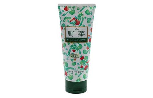 Sữa Rửa Mặt Hoa Quả Trị Mụn Dưỡng Trắng Geo Vegetable Foam Cleansing 200ml