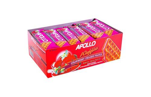 Bánh Apollo Waffles vị dâu