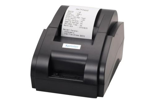 Máy in hóa đơn Xprinter XP-58IIH 58MM, Giá tháng 11/2019