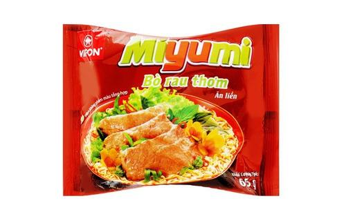 Mì ăn liền Miyumi Vifon hương vị Bò Rau Thơm