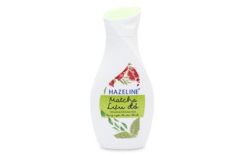 Sữa Dưỡng Thể Hazeline Matcha và Lựu Đỏ
