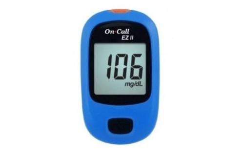 Image result for máy đo đường huyết on call ez II
