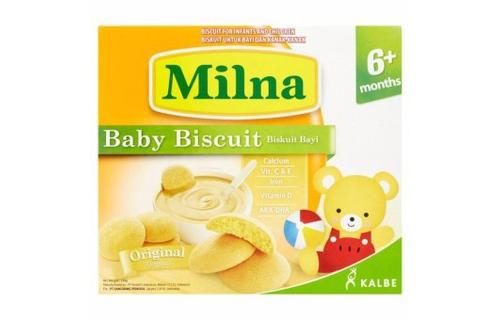 Bánh Ăn Dặm Milna Hương Tự Nhiên