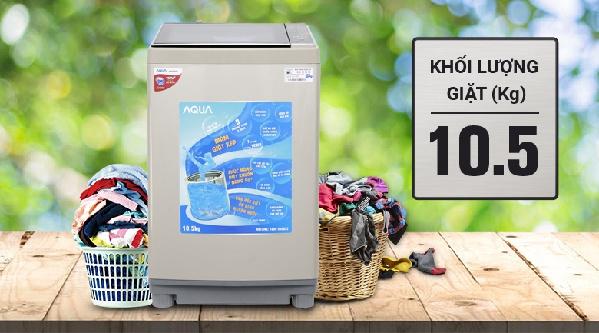 5 mẫu máy giặt dung tích lớn (9kg) giá dưới 7 triệu bạn có thể tham khảo