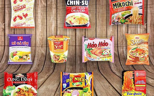 """Top 5 thương hiệu mì ăn liền ngon đến """"phát cuồng"""""""