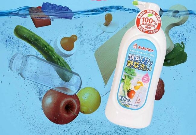 Top 8 thương hiệu nước rửa bình sữa cho bé an toàn và tốt nhất 2020