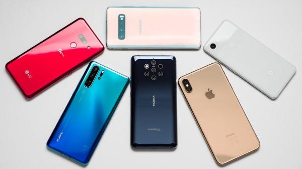 5 thương hiệu điện thoại thông dụng hàng đầu