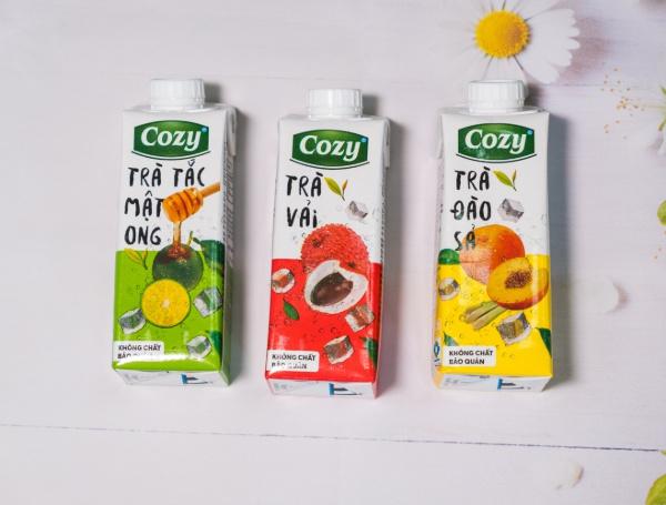 Review 5 loại trà uống liền Cozy siêu ngon nên thử