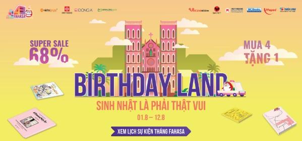 Tưng bừng đón Sinh nhật FAHASA lần thứ 43
