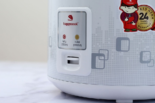 Có nên cân nhắc nồi cơm điện đến từ thương hiệu Happycook?